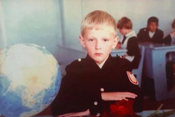 В школе Павел Воля был отличником