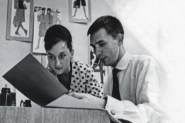 С женой Мариной Зайцев разошелся в 1969 году после десяти лет брака