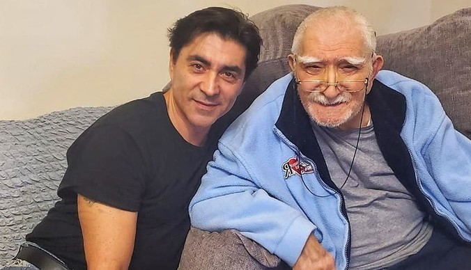 Первые кадры с Арменом Джигарханяном после болезни