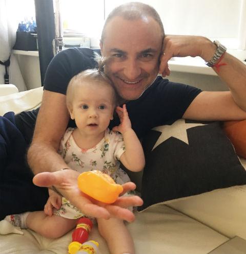 Михаил Турецкий с внучкой Леной