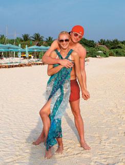 Ольга Бузова и Дмитрий Тарасов отдохнули на Мальдивах