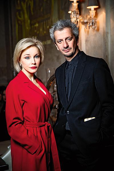 Актриса сыграла в семи постановках Константина Богомолова и без раздумий приняла предложение поучаствовать в его ТВ-проектеоББо