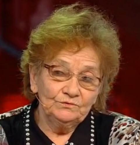 Мама Михаила Попкова Антонина