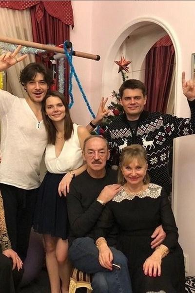 Михаил Боярский гордится успехами родных
