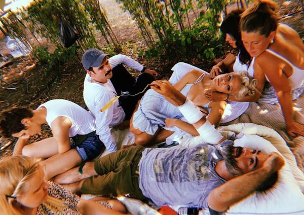 Эдуард Оганесян и команда картины «Чики»