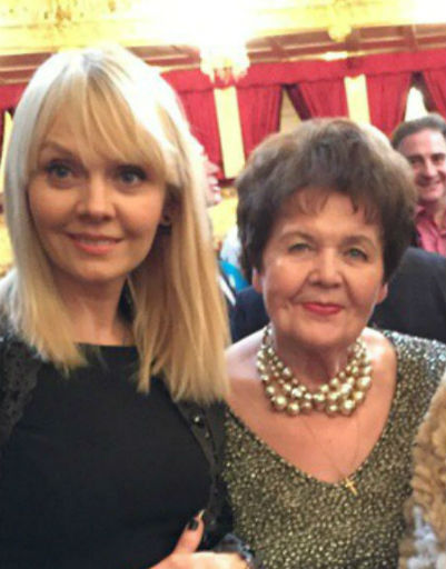 Певица Валерия с мамой Галиной Николаевной