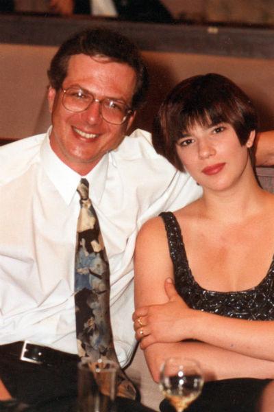 Со второй супругой Сабиной