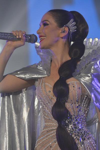 Орейро пела в 2019 году в Москве