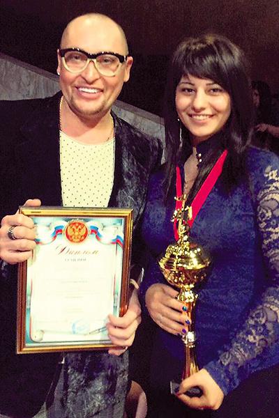 Девушка одержала массу побед в разных конкурсах. В 2014 году Гран-при конкурса «Золотой голос IV» вручил певец Шура