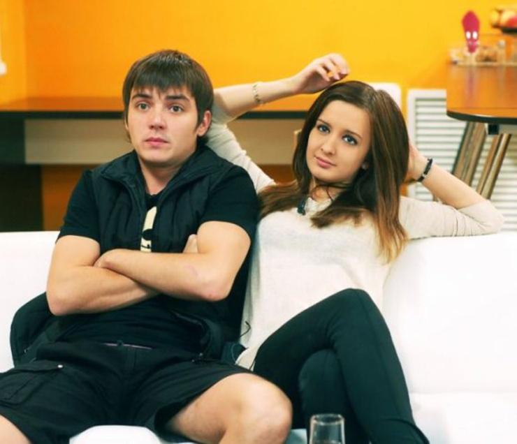 Евгений Кузин и Маргарита Агибалова