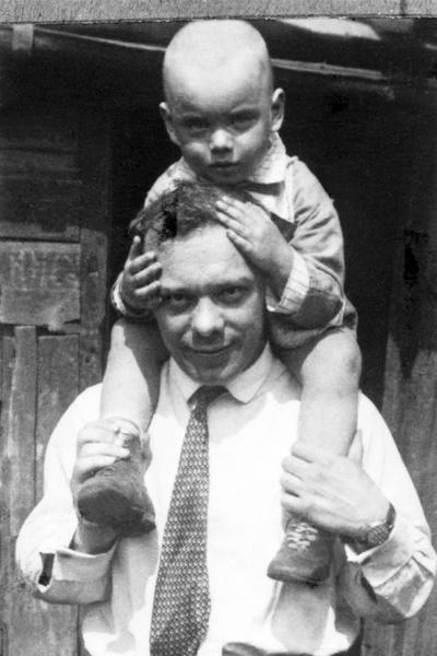 Алексей с отцом Владимиром Баталовым
