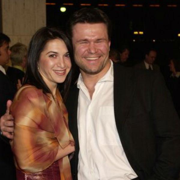 Олег Тактаров со второй супругой, Марией