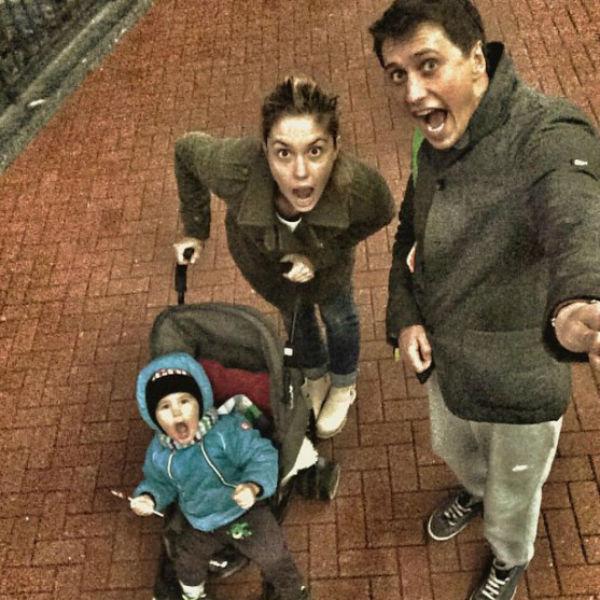 Актеры приучили сына к тому, что иногда родители могут ненадолго покидать дом, и это нормально