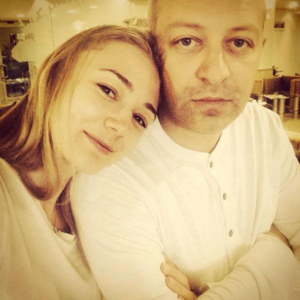 Актриса с мужем Арчилом Геловани