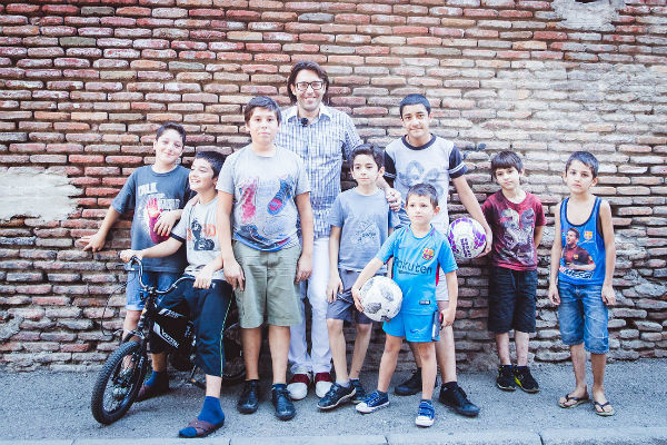 Андрея Малахова знают в каждой тбилисской дворовой команде по футболу
