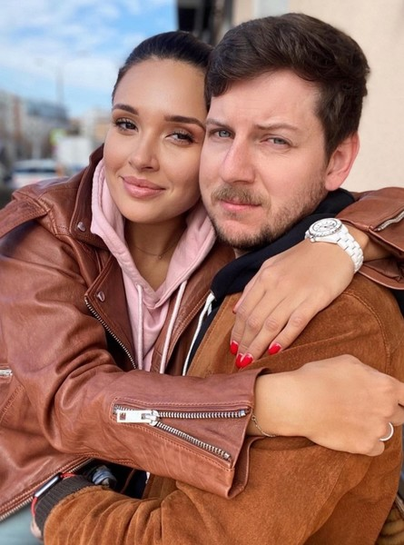 Ольга Дибцева с мужем Романом