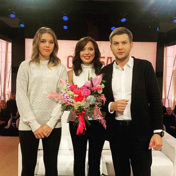 Шитова с дочерью стали гостьями шоу Бориса Корчевникова