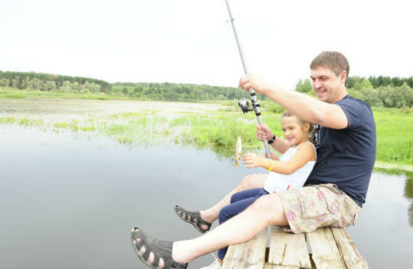 Дмитрий Орлов с дочерью Таней