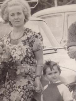 Лера с мамой