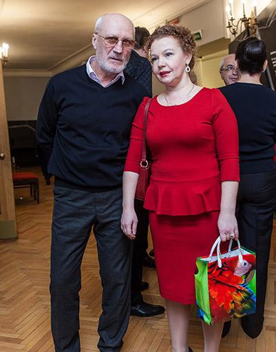 Юрий Беляев и Татьяна Абрамова