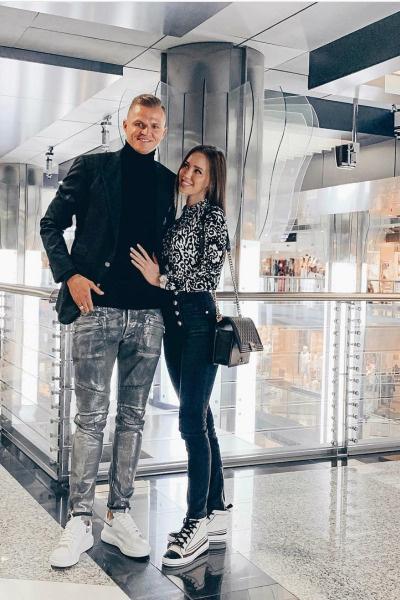 Анастасия и Дмитрий в браке уже больше года