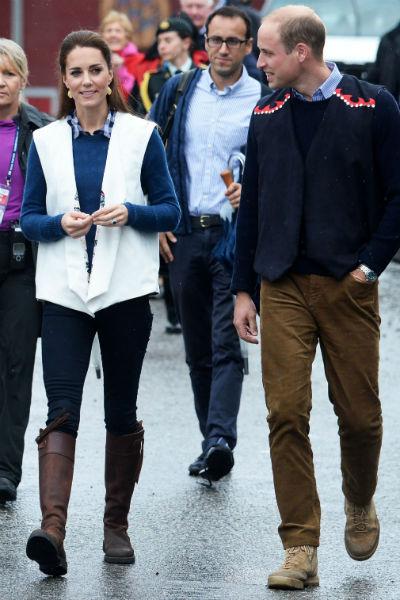 Кейт приехала в сапогах, которые носит на протяжении 12 лет