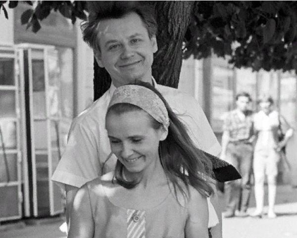 Людмила Крылова и Олег Табаков