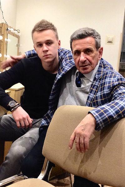 Борис Смолкин с сыном