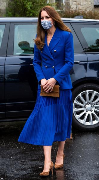 Этот образ Кейт полностью заимствовала у принцессы Дианы