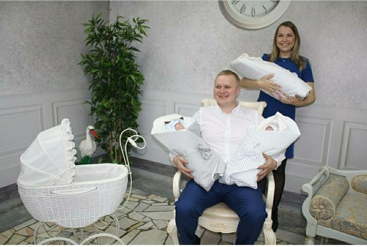 Зенякина и ее муж не думали, что в одночасье станут многодетными родителями