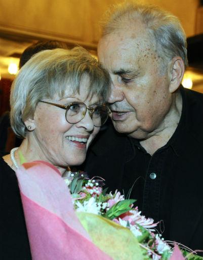 Эльдар Рязанов и Алиса Фрейндлих, 2009 год