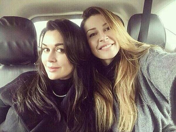 Анастасия с дочерью Анной