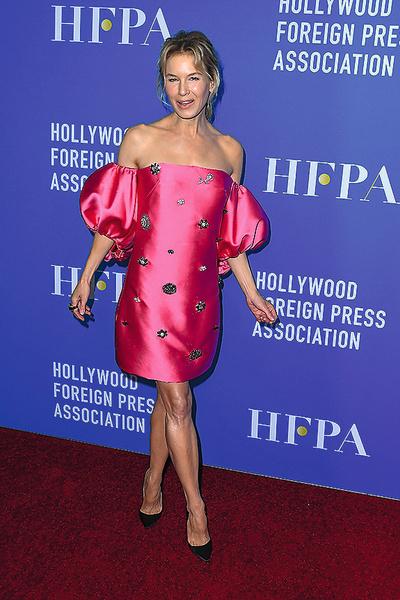 Актриса на гала-ужине Голливудской ассоциации иностранной прессы, Беверли-Хиллз