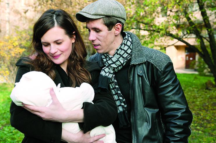 Рождение ребенка не сблизило Алексея и Юлию