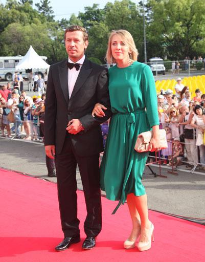 Андрей Мерзликин с женой