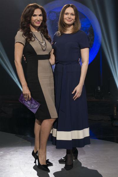 Эвелина Бледанс и Ирина Безрукова
