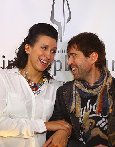 Елена Борщева и Максим Покровский