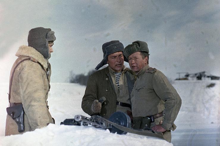 На съемках фильма «Аты-баты, шли солдаты…» режиссер пережил второй инфаркт