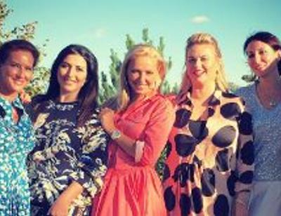 Татьяна Навка собрала близких подруг на грандиозном празднике
