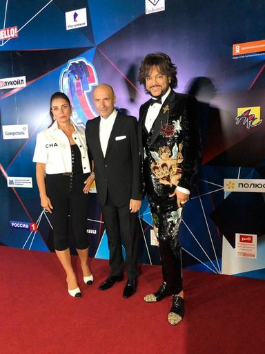 Филипп Киркоров и Игорь Крутой с женой