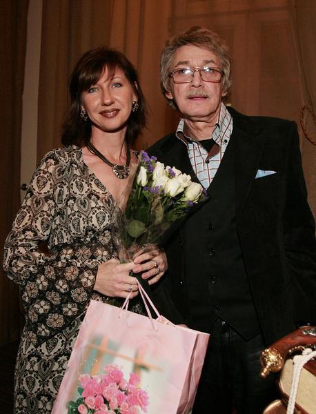 Старыгин со своей последней женой Екатериной Табашниковой