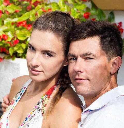 Мария Комиссарова и Алексей Чаадаев
