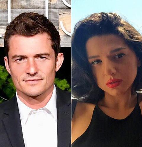 Орландо Блум и Хатия Буниатишвили