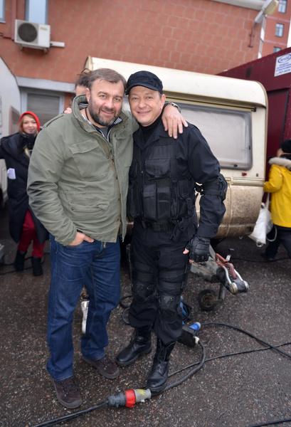 Марат Башаров и Михаил Пореченков