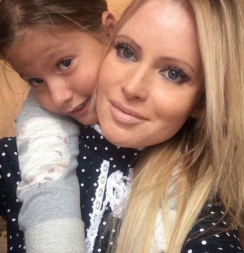 Дана Борисова вместе с дочкой Полиной