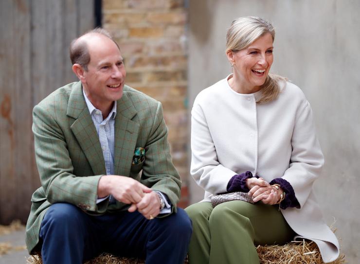 Эдвард и Софи женаты более 20 лет