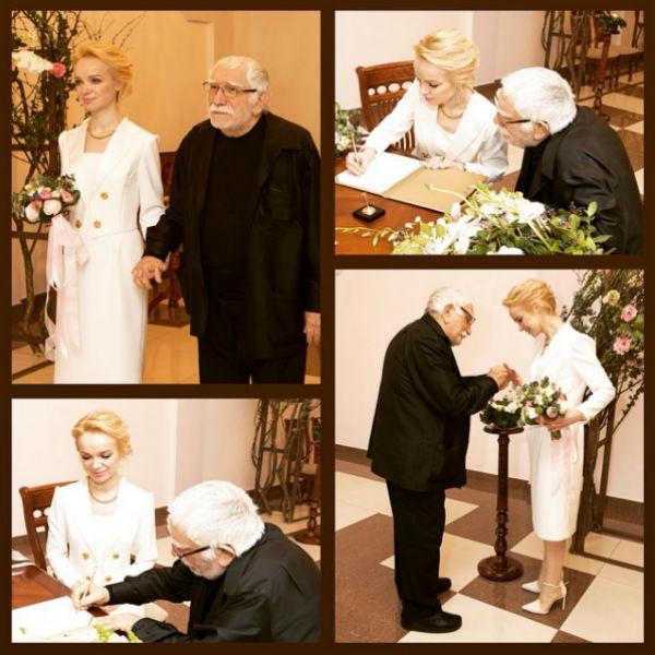 Свадьба знаменитого артиста прошла скромно