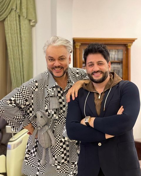 Друзья навек: оперный певец Эйвазов и король поп-музыки Киркоров