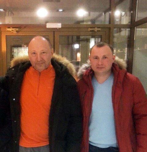 Юрий Гальцев с сыном Михаилом