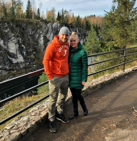 Алексей Самсонов с женой Юлей